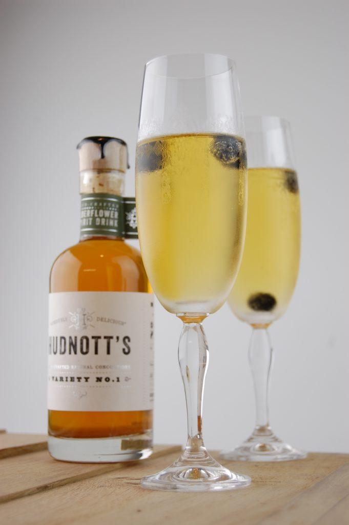 Hudnott's Elderflower Gin Kir Royale